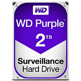 "Накопичувач 3.5"" 2TB WD Purple (WD20PURZ) 5400rpm, 64Mb"